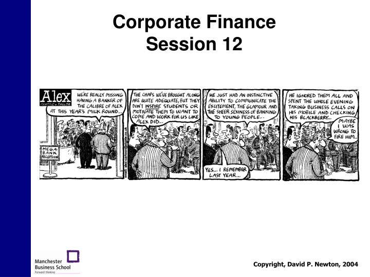 corporate finance session 12 n.