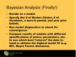 bayesian analysis finally