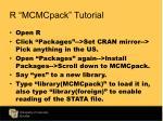 r mcmcpack tutorial1