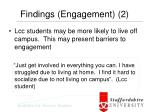 findings engagement 2