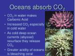 oceans absorb co 2
