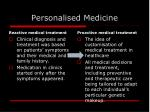 personalised medicine1