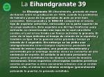 la eihandgranate 39