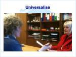 universalise
