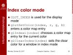 index color mode