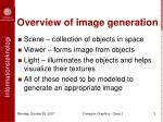 overview of image generation