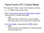 fama french ff 3 factor model