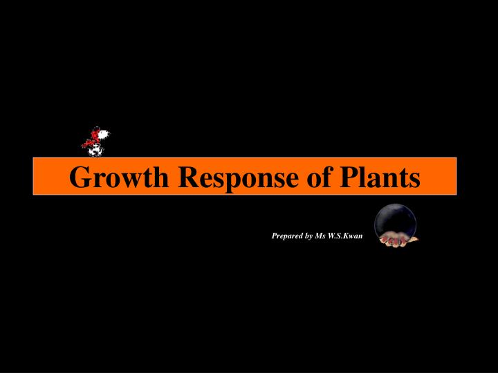 growth response of plants n.