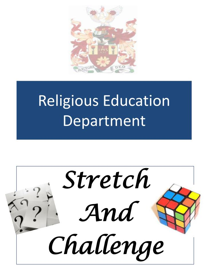 religious education department n.