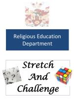 religious education department