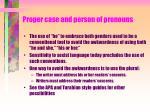 proper case and person of pronouns3
