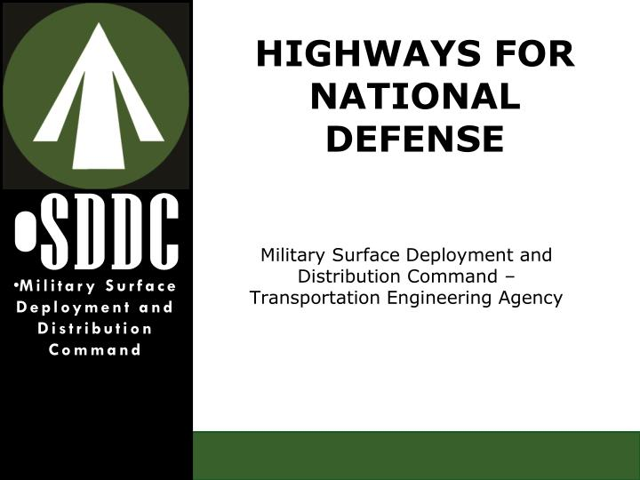military surface deployment and distribution command transportation engineering agency n.