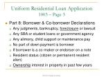uniform residential loan application 1003 page 31
