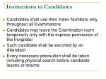instructions to candidates4