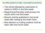 supplementary examinations1
