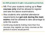 supplementary examinations2