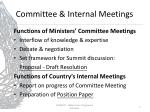 committee internal meetings1