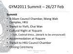 gym2011 summit 26 27 feb2