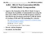 6 061 802 11 next generation 60ghz ng60 study group motion