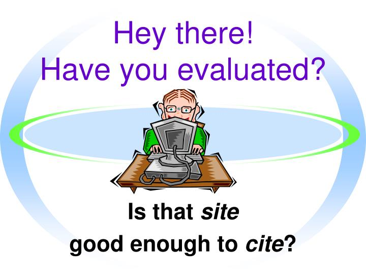 hey there have you evaluated n.