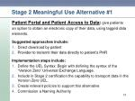 stage 2 meaningful use alternative 1