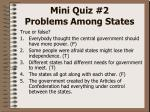 mini quiz 2 problems among states4