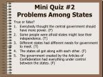 mini quiz 2 problems among states5