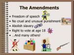 the amendments5
