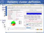 dynamic cluster definition