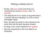 writing a method cont 2