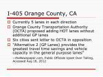 i 405 orange county ca