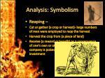 analysis symbolism
