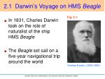 2 1 darwin s voyage on hms beagle
