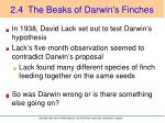 2 4 the beaks of darwin s finches2