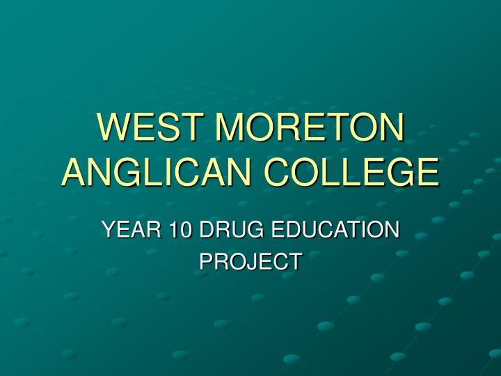 west moreton anglican college n.