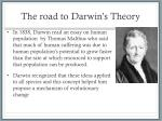 the road to darwin s theory