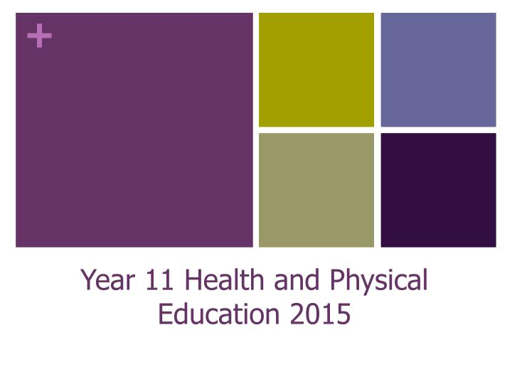 year 11 health and physical education 2015 n.