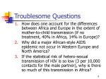 troublesome questions