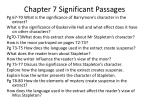 chapter 7 significant passages