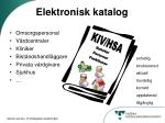 elektronisk katalog
