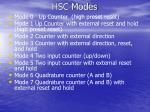 hsc modes