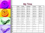 my time1