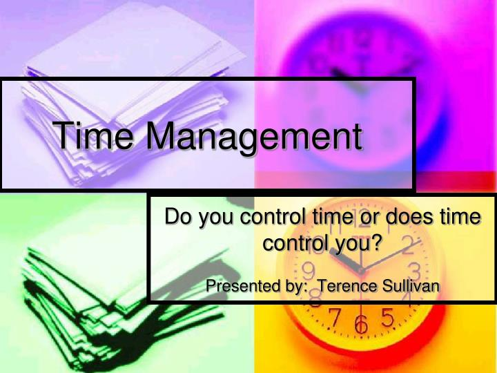 time management n.