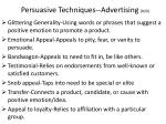 persuasive techniques advertising r20