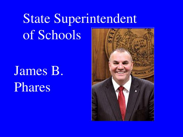 State Superintendent