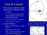 time launch