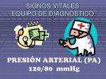 signos vitales equipo de diagn stico