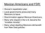 mexican americans and fdr