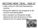 second new deal 1935 37