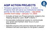 aqip action projects